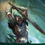【アート】黒き剣のギデオン/Gideon Blackblade(灯争大戦)PC壁紙