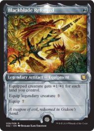 Blackblade Reforged(再鍛の黒き剣)(MTG「Signature Spellbook: Gideon」収録)