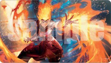 炎の職工、チャンドラ(Chandra, Fire Artisan)プレイマット:イラスト Ryota-Hさん