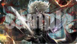 復讐に燃えた血王、ソリン(Sorin, Vengeful Bloodlord)プレイマット:イラスト 田島幸枝さん