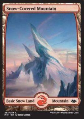 冠雪の山/Snow-Covered Mountain:モダンホライゾン・フルアート