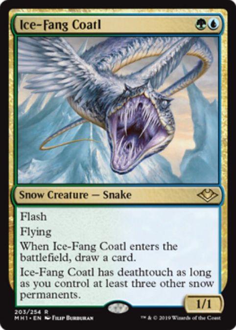 Ice-Fang Coatl(モダンホライゾン 英語版)