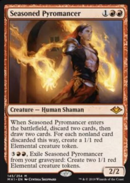 Seasoned Pyromancer(モダンホライゾン)