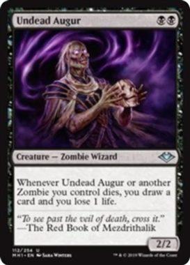 Undead Augur(モダンホライゾン)