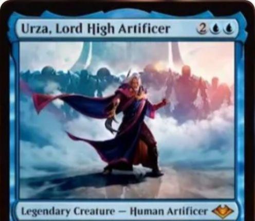【モダンホライゾン】青伝説神話の人間工匠「Urza, Lord High Artificer」が公開!ウルザのカード化!