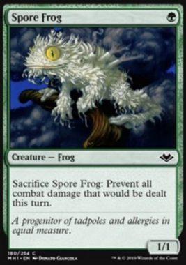 Spore Frog(モダンホライゾン)