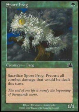 胞子カエル(Spore Frog)プロフェシー