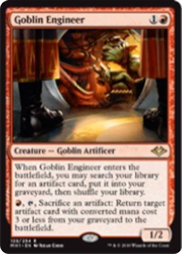 Goblin Engineer(モダンホライゾン)