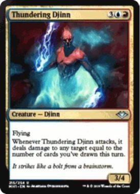 Thundering Djinn(モダンホライゾン)
