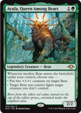 熊の女王、アイユーラ(Ayula, Queen Among Bears)