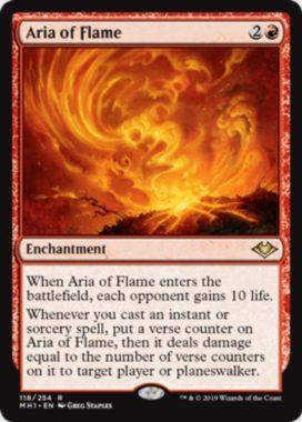 炎のアリア(Aria of Flame)英語版
