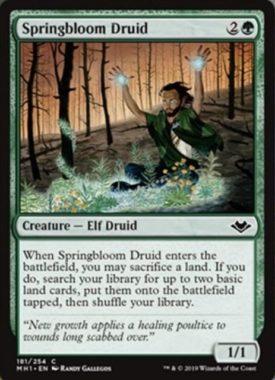 Springbloom Druid(モダンホライゾン)