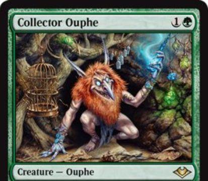 【モダンホライゾン】緑レアのアウフ「Collector Ouphe」が公開!2マナ2/2&アーティファクトの起動型能力を起動不可に!