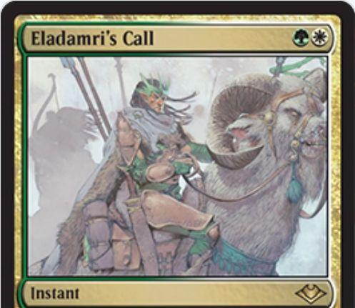 【モダンホライゾン】エラダムリーの呼び声(Eladamri's Call)がプレーンシフトより再録!