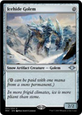 Icehide Golem(モダンホライゾン)