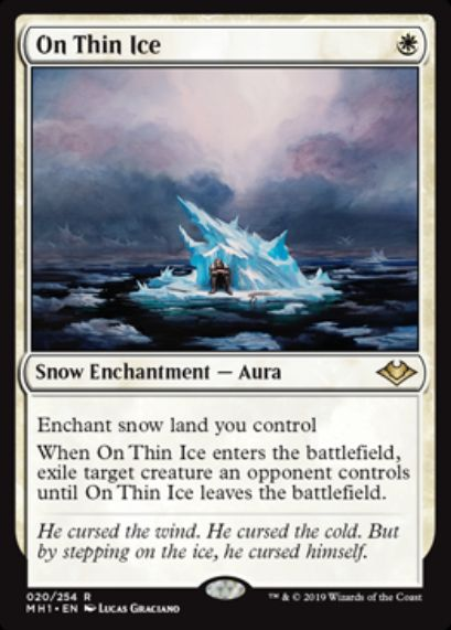 On Thin Ice(モダンホライゾン)