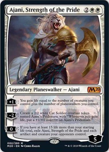 Ajani, Strength of the Pride(基本セット2020)
