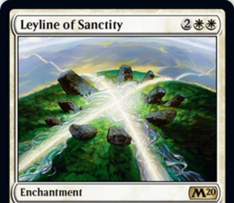 【基本セット2020】神聖の力線(Leyline of Sanctity)が新規アートで再録決定!
