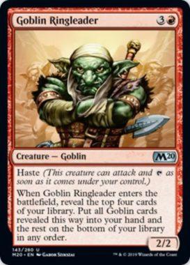 ゴブリンの首謀者(Goblin Ringleader)基本セット2020
