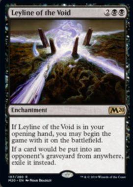虚空の力線(Leyline of the Void)基本セット2020