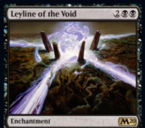 【基本セット2020】虚空の力線(Leyline of the Void)が新規アートで再録決定!