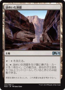 謎めいた洞窟(Cryptic Caves)