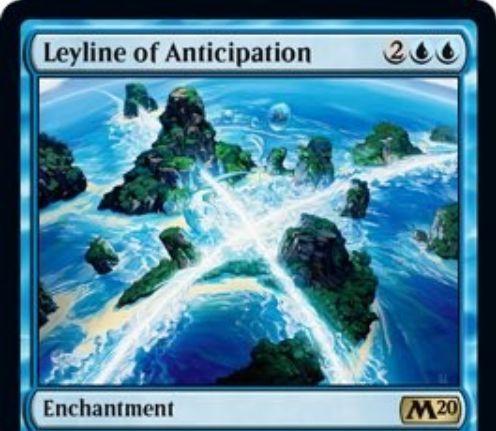 【基本セット2020】予期の力線(Leyline of Anticipation)が新規アートで再録決定!