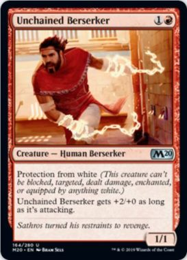 Unchained Berserker(基本セット2020)