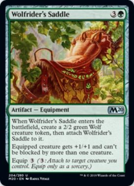 Wolfrider's Saddle(基本セット2020)