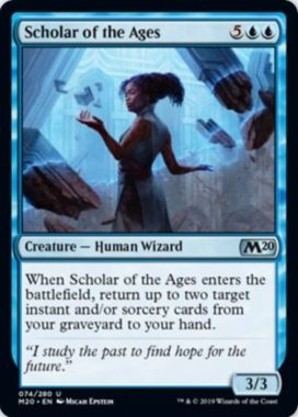 Scholar of the Ages(基本セット2020)