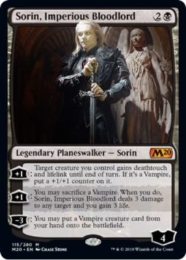 Sorin, Imperious Bloodlord(基本セット2020)