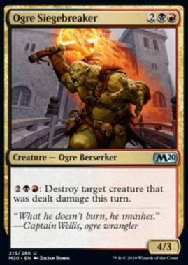 Ogre Siegebreaker(基本セット2020)