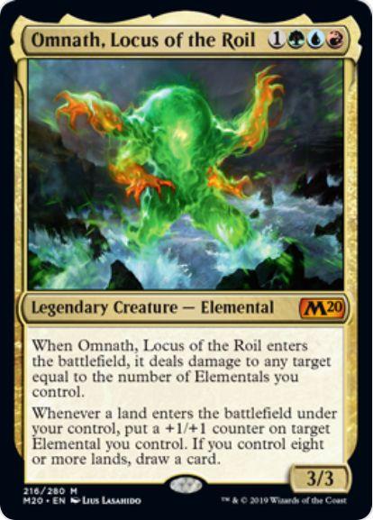Omnath, Locus of the Roil(基本セット2020)