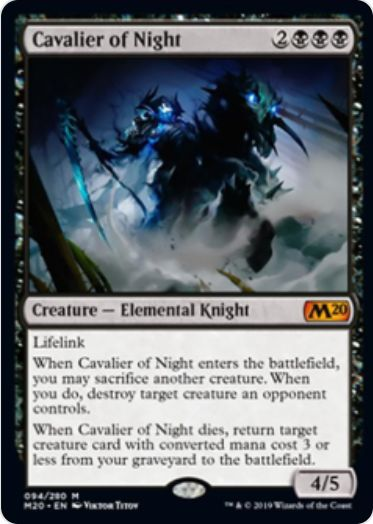Cavalier of Night(基本セット2020)