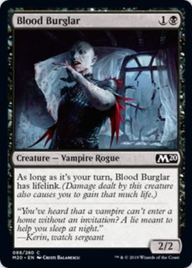 Blood Burglar(基本セット2020)