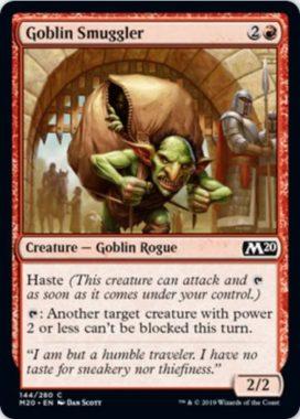 Goblin Smuggler(基本セット2020)