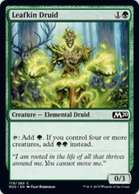 Leafkin Druid(基本セット2020)