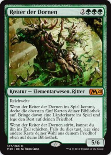 Cavalier of Thorns(基本セット2020)