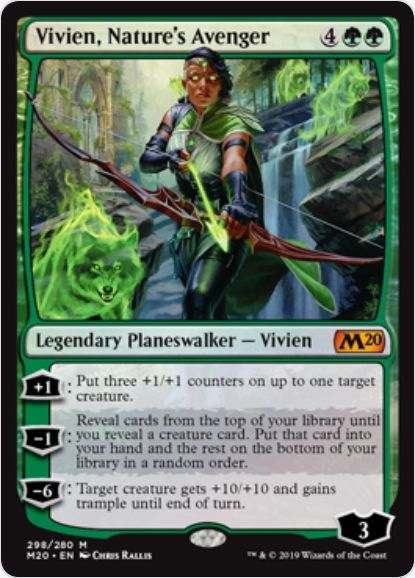 Vivien, Nature's Avenger(基本セット2020)