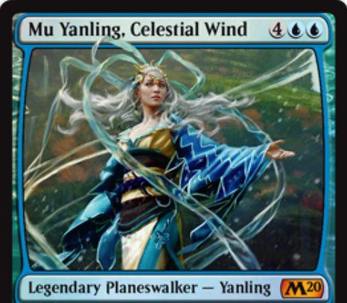 【基本セット2020】PWデッキ限定収録のヤンリン「Mu Yanling, Celestial Wind」が公開!