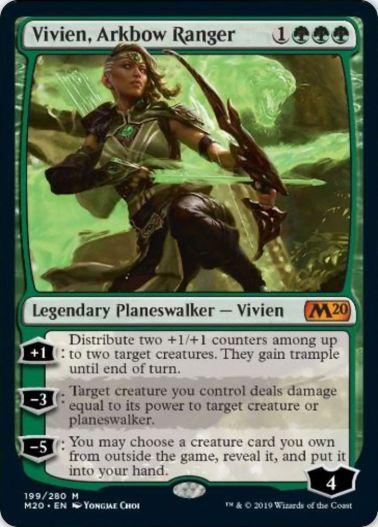 Vivien, Arkbow Ranger(基本セット2020)