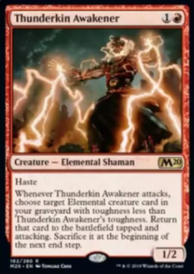 Thunderkin Awakener(基本セット2020)