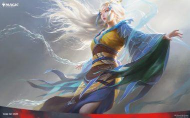 空の踊り手、ムー・ヤンリン(Mu Yanling, Sky Dancer)PC壁紙
