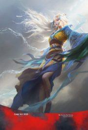 空の踊り手、ムー・ヤンリン(Mu Yanling, Sky Dancer)スマホ壁紙