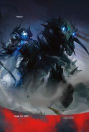 夜の騎兵(Cavalier of Night)スマホ壁紙
