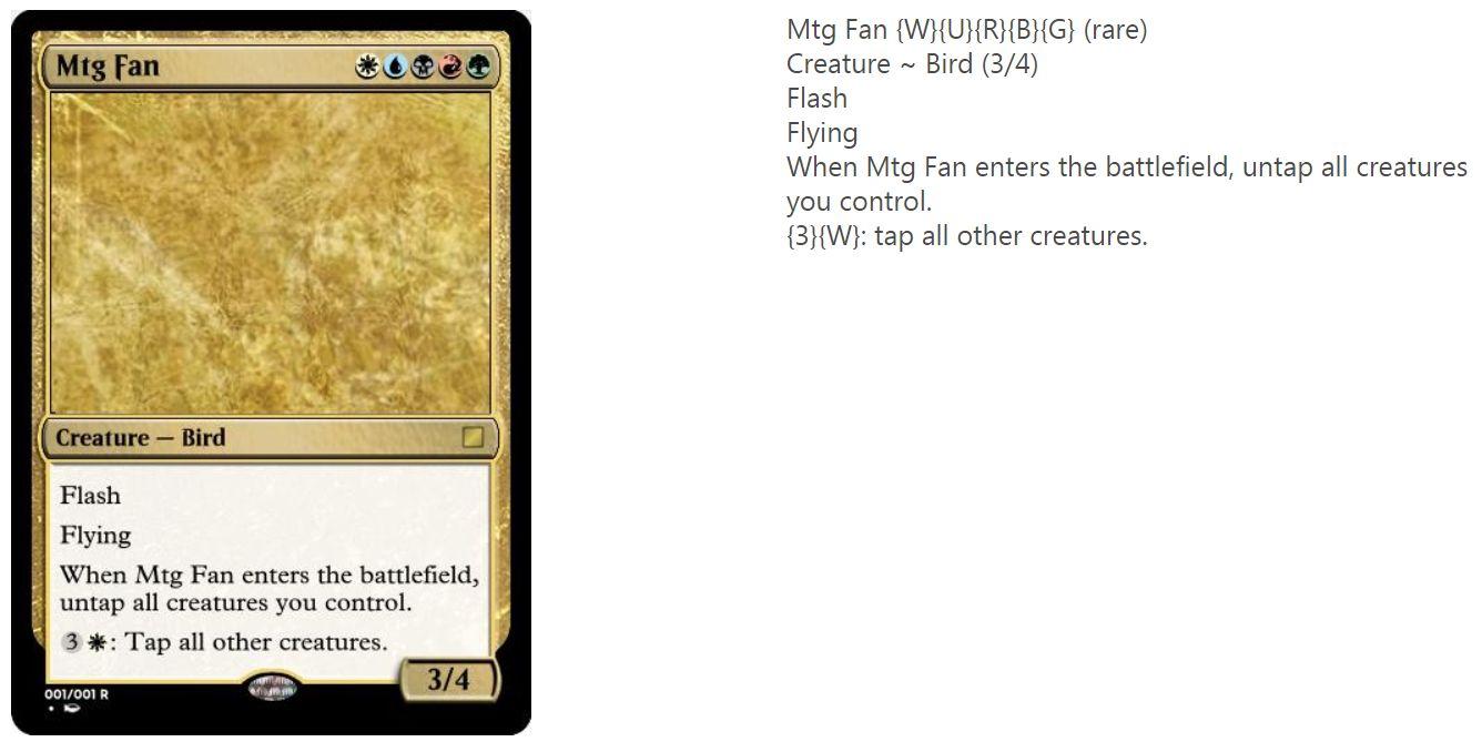 MTG FAN - Magic AIにて生成