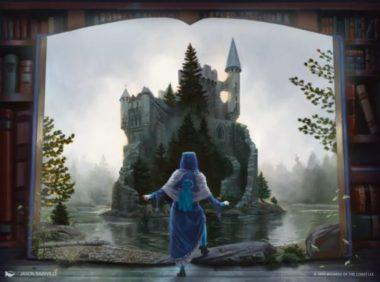 エルドレインの王権のアート(本と小人)