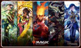 マジック:ザ・ギャザリング プレイヤーズラバーマット 『灯争大戦』 (A) [MTGM-010]
