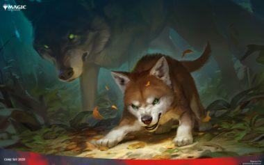 【アート】獰猛な仔狼(基本セット2020)PC壁紙