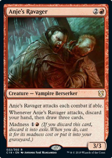 Anje's Ravager(統率者2019)
